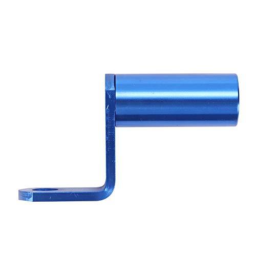 FANMURAN Soporte de extensión para espejo retrovisor para moto, multifunción, universal, móvil, GPS, azul