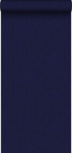 Tapete Jeans-Optik Dunkelblau - 137735 - von ESTAhome
