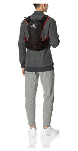 Salomon Leichter Rucksack, Skin Pro10 Set, schwarz/rot, 10 L, L37996800