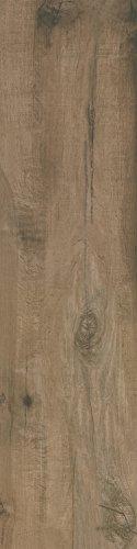 Bodenfliesen Lodge braun-noce matt rektifiziert im Großformat 30x120cm aus Feinsteinzeug Fliesen in Holzoptik (Muster ab 10x10cm)