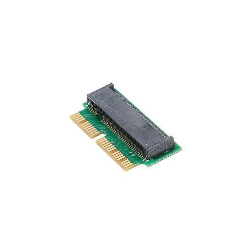 Docooler 12 + 16Pin NGFF M.2 NVME SSD Cartão de Adaptador de Cartão de Conversão Para Atualização 2013-2015 MacBook Air A1465 A1466 Pro A1398 A1502 Suporte AHCI SSD