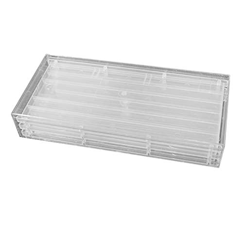 Non-brand Sólo Caja de Tapas de Llaves Caja de colección 2 Capas para Teclado