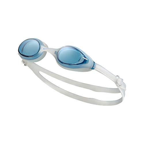 Nike Goggle Schwimmbrille, Unisex, Erwachsene, Unisex, NESSA185-400, Blue (blau), Einheitsgröße
