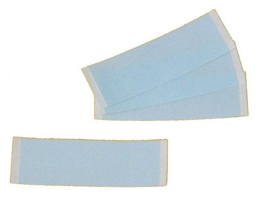 Lot de 200 bandes adhésives Blue Liner Tape pour cheveux Extensions & zweit
