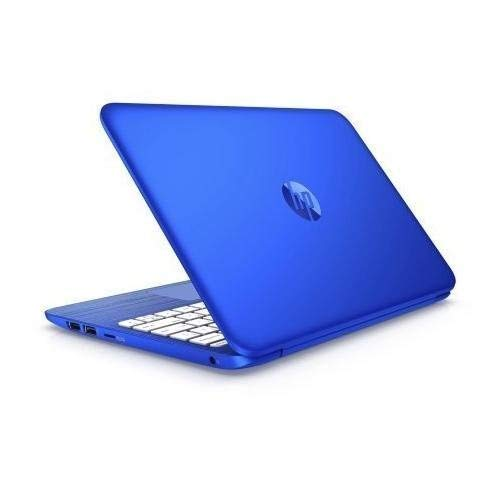 HP Stream 11.6 inch Laptop (Intel Celeron N3050 1.6GHz, 2GB RAM, 32GB Solid State Drive, wifi, HDMI, Windows 10 Home, with Office 365 Personal for One Year), blue, up to 10 hours battery