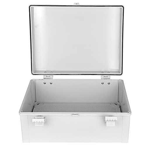 Caja eléctrica para exteriores, carcasa impermeable a prueba de agua Fácil instalación Proteja la caja de distribución para exteriores para caja eléctrica
