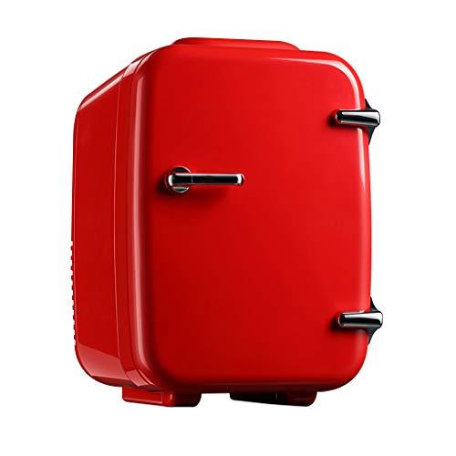 HOUSEHOLD Mini Refrigerador y Calentador de Nevera de 4 litros AC/DC, Refrigerador Termoeléctrico Portátil de Belleza, para Suministros de Esteticista, Almacenamiento de Maquillaje