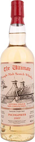 The Ultimate INCHGOWER 11 Years Old Single Malt 2007  Whisky (1 x 0.7 l)