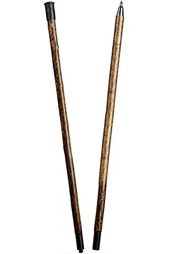 Alpenstange Hasel zweiteilig mit Spitzzwinge 175 cm