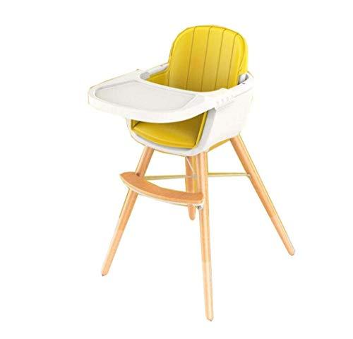 TQ Asiento elevador de lujo para niños, cuidado saludable, silla de comedor de madera maciza