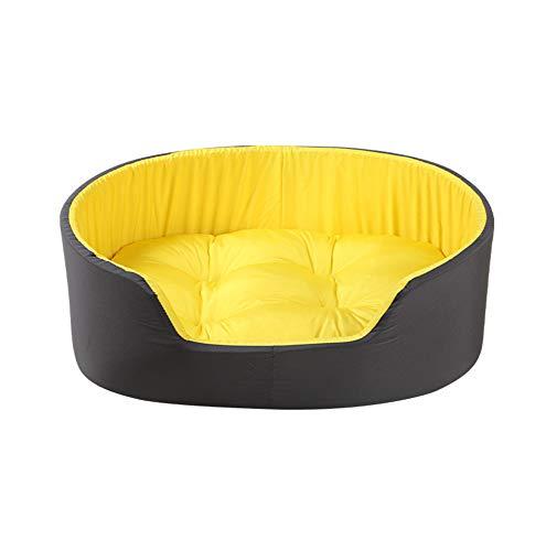 GRFD Cuccia per Cani, Cuccia Lavabile, Cuccia Grande Spazio con Fondo bifacciale, Cuccia 3D Tridimensionale con Fondo Antiscivolo, S, L, M