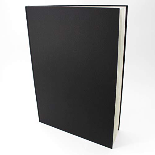 Artgecko Skizzenbuch, A3, Hochformat, 92 Seiten (46 Blatt), 150 g/m², säurefrei, weißes Zeichenpapier