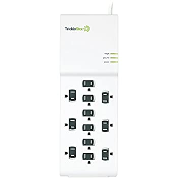 Trickle Star 182SP-US-12XX 12 Outlet Surge Protector 4320 Joules