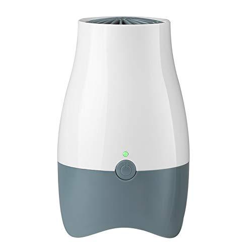 Zhouzl Hogar & Jardín AX168B Mini refrigerador purificador de Aire de ozono y Desodorante Fresco Hogar & Jardín (Color : Grey White)