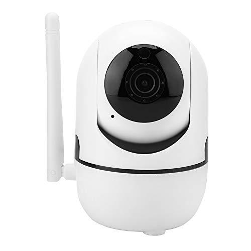 GOTOTOP bewakingscamera, 1080p HD draadloze camera met 64 GB SD-kaart, 355 graden horizontale rotatie, WALN camera met intercomfunctie