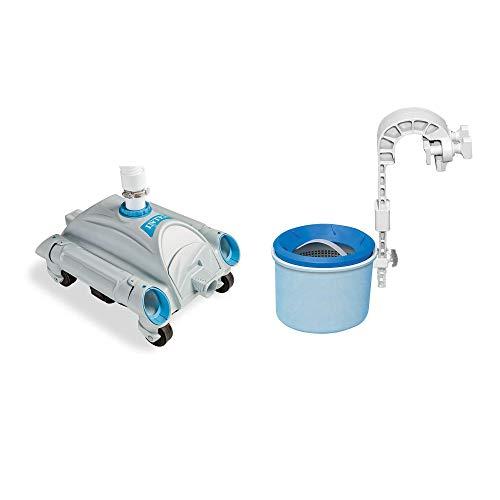 Intex Aspirateur automatique pour piscine hors sol & skimmer automatique