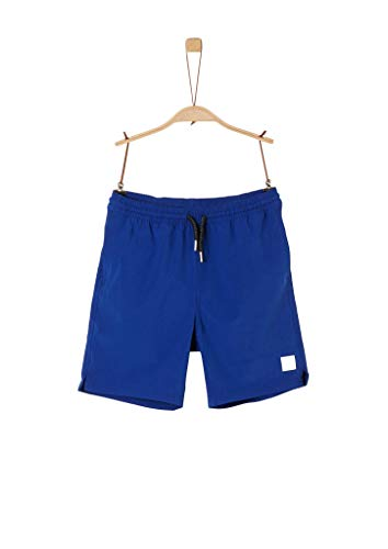 s.Oliver Junior 402.12.004.24.265.2040916 Badehose, Jungen, Blau S REG