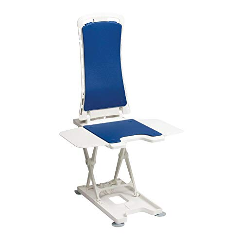 Drive Bellavita Lightweight Reclining Bath Lift with Blue Covers