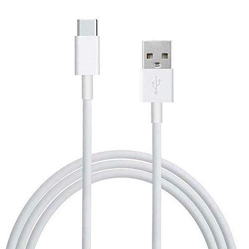 Tipo C Cable 5A, 2M Super USB C Cable de Carga rápida Compatible para Samsung Note10 S20 S10, Huawei P30, Moto G7, Nokia, Google Pixel 4 XL y más (Blanco)