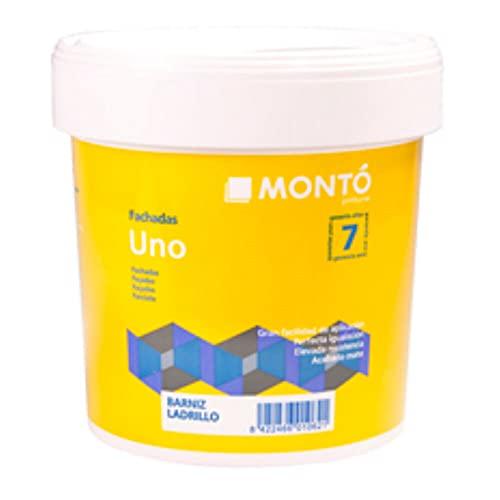 Barniz Transparente para Impermeabilizar y Proteger Superficies Porosas. Barniz Ladrillo (Barniz Ladrillo Mate 750ml)