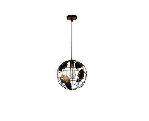 Weinlese-nostalgischer Leuchter, geometrische Kugel-Pendelleuchten Ecorative Deckenleuchte für Wohnzimmer, Schlafzimmer, Balkon, Café, Bar, Restaurant-Innenbeleuchtung