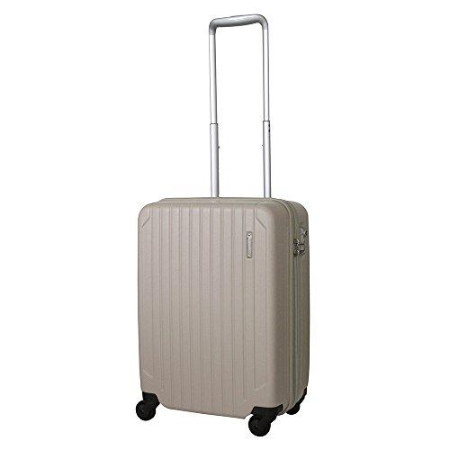 [サンコー] ACTIVE CUBE SKYMAX C スーツケース スカイマックス 大容量 軽量 機内持込 小型 軽量 容量39L 縦サイズ53.5cm 重量2.8kg SAAC-50 エンボスベージュ