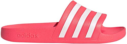 adidas Womens Aqua Adilette Gymnastics Shoe, Signal Pink/Footwear White/Signal Pink,43 EU