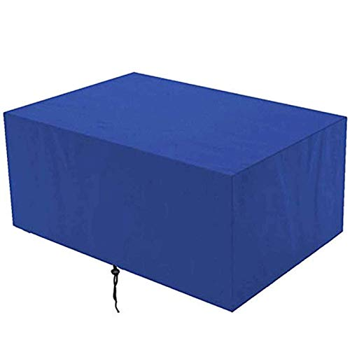DKLE Furniture Protective Cover 420D Oxford, Furniture Protective Cover, dust Resistant for Garden Bench, Outside, Table and Chairs