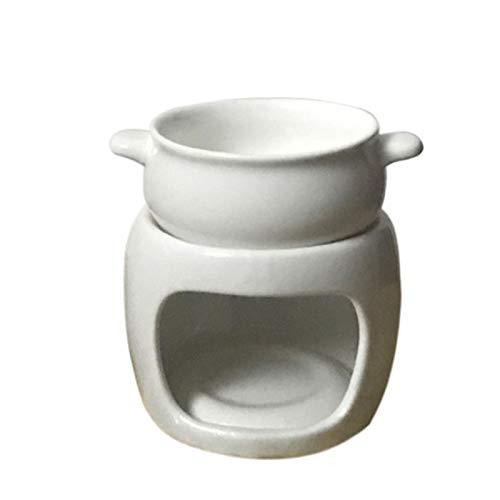 hooks Juego de Fondue, Olla de Fondue de cerámica esmaltada