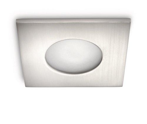 Philips 599101716 plafondlamp, GU10, zilverkleurig / metaal