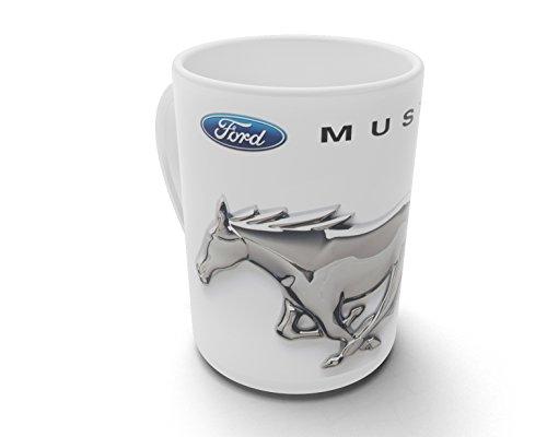 caprica91 Ford Mustang Auto Tasse Kaffeebecher Fototasse Kaffee Tasse - T034