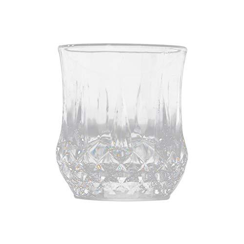 Yue668 - Vaso de Vino con Forma de Copa de Cerveza rojadora de Colores LED de inducción Intermitente, Taza de Bebida de Barra de Parte de Cristal de Vino