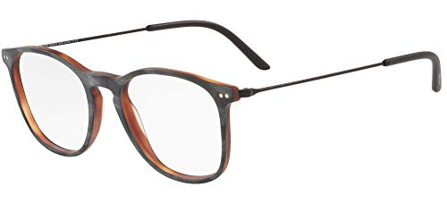 Armani Gafas de Vista Giorgio AR 7160 Matte Grey Horn 53/19/145 hombre