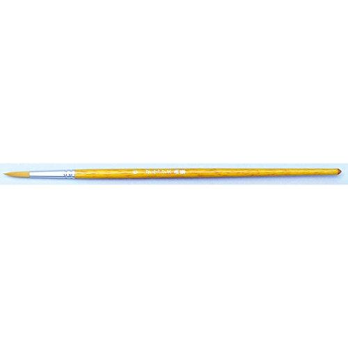 アーテック ナイロン水彩画筆(茶毛) 10626 丸筆 6号