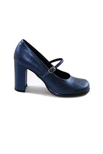 Fornarina , Damen Pumps, Blau - Blue - Größe: 38
