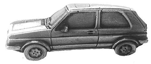 Classic Car Golf GTI MK2 ref300 Anstecknadel mit Zinn-Effekt