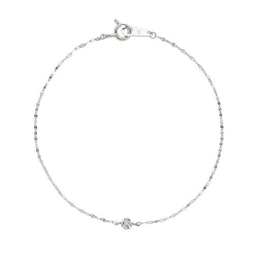 [ヴァンドーム青山] VENDOME AOYAMA Pt950 プラチナ ダイヤモンド 1石 ブレスレット APVB3072LSDI