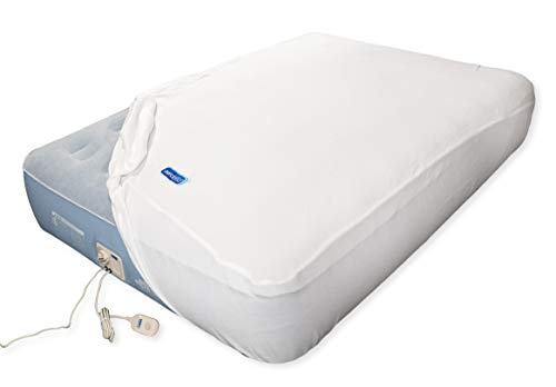 AeroBed Luxury Collection Extra Comfort 12-Inch Full Inflatable Bed Mattress Includes Fleece Cover for Soft and Cozy Comfort