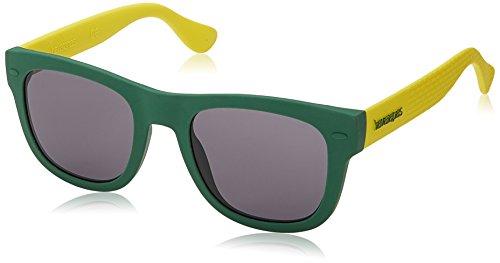 Havaianas PARATY/L Y1 QPN 52 Occhiali da Sole, Verde (Green Yellow/GY Grey), Uomo