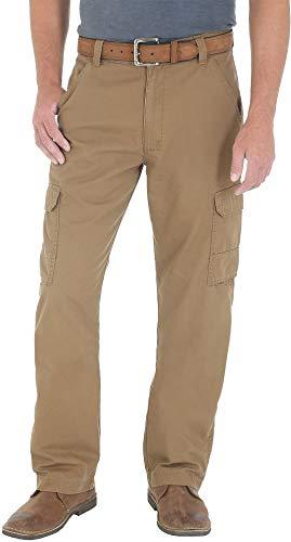 Wrangler Mens Ripstop Cargo Pants 33W x 32L Bronze