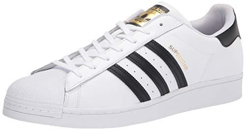 adidas Originals Superstar - Zapatillas para niño, Color Blanco, Talla 45 1/3 EU