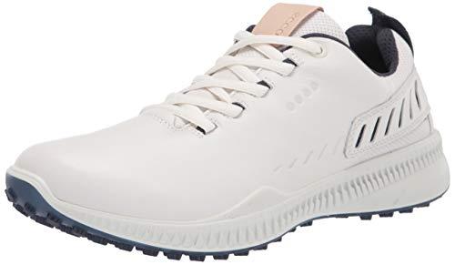 Ecco Athletic Men's S-Line Hydromax Golf Shoe, White, 11-11.5