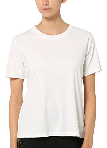 Ultrasport Endurance Albury Camiseta Oversize, Mujer, Blanco, 44