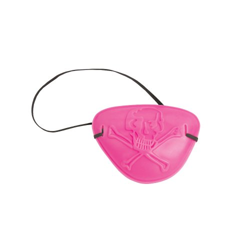 Creative Converting 5 Count Pirate Parr-ty Girl Pirate Eye Patch Child Party Favors