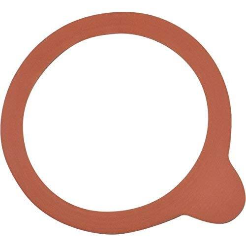 Weck Einkochringe aus hochwertigen Naturkautschuk - passend für Weck Gläser mit 60 mm Durchmesser - 10 Stück
