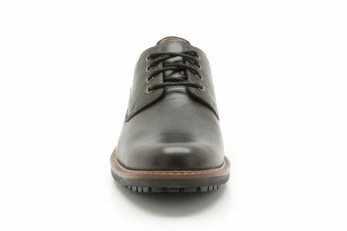 Clarks Montacute Hall, Men's Derby, Black (Black Leather), 10.5 UK (45 EU)