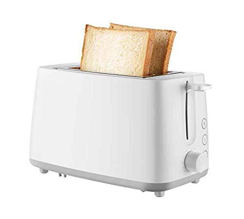 2 Slice Toaster, 3cm Extra brede sleuf en uitneembare kruimellade, broodrooster met 6 Temperatuur Instellingen en Thaw functie, snoeropbergmogelijkheid