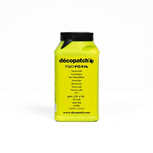 Décopatch PP300AO Klebstofflack Paperpatch (satiniert, 300g)