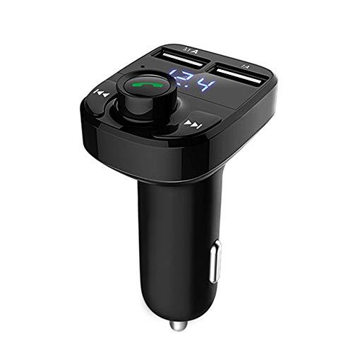 12shage FM Transmitter für Auto Ladegerät Bluetooth Drahtlose Freisprecheinrichtung Sender Empfänger Radio Adapter MP3 Player Dual USB Ladegerät