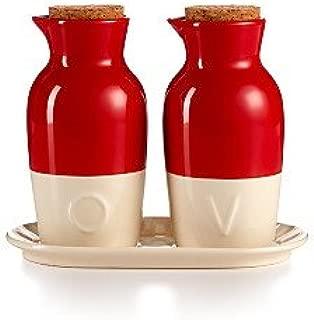 Martha Stewart Collector's Ceramic Oil and Vinegar Cruet Set